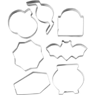7-PC Haunted House Cutter Set