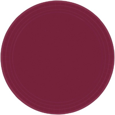 "7"" Plate 20 CT Berry"