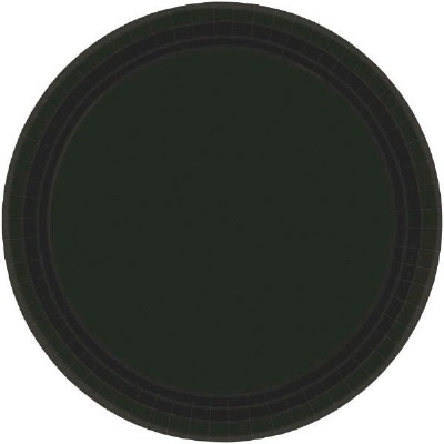 "7"" Plate 24 CT Black"