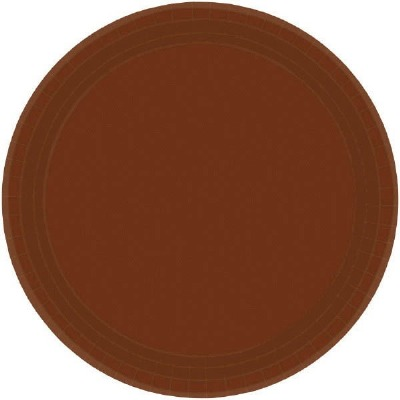"7"" Plate 24 CT Brown"