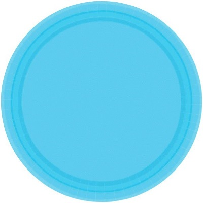"""7"""" Plate 24 CT Crbn Blue"""