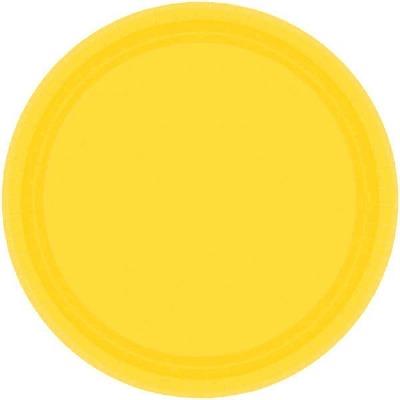 "7"" Plate 24 CT Yellow"