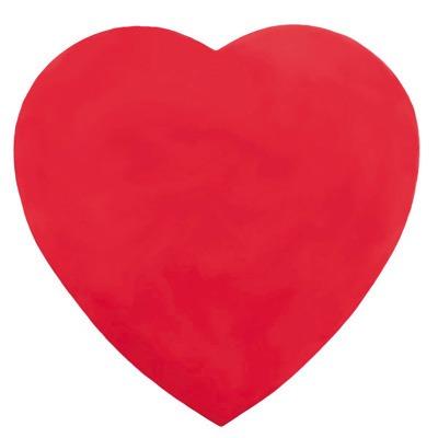 8 OZ Heart Box Red Foil Plain