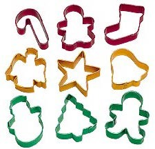 18-PC Halloween Cookie Cutters