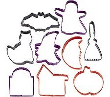 9-PC Halloween Cookie Cutters
