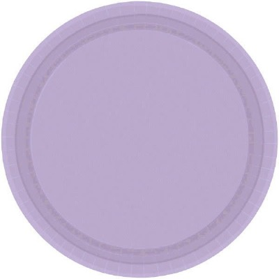 "9"" Plate 24 CT Lavender"