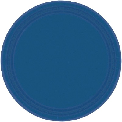 "9"" Plate 24 CT Navy Blue"