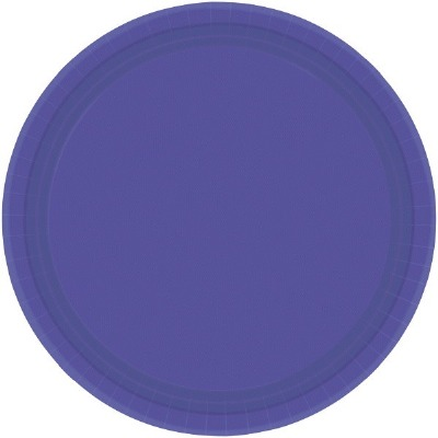 "9"" Plate 24 CT Purple"