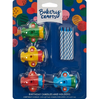 Airplane Candleholders Candles