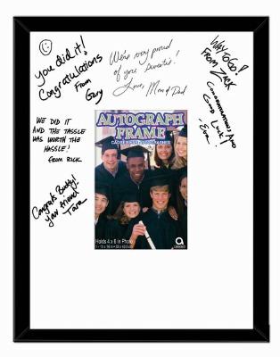 Autograph Frame Personalize It