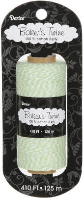 Bakers Twine 410' Lime/White