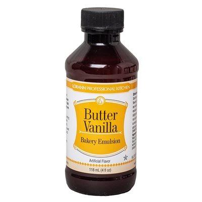 Bakery Emulsion Butter Vanilla 4 Ounce