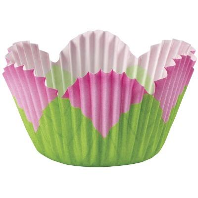 Baking Cup Pink Petal 48 CT