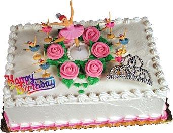 Ballerina Cake Topper Kit