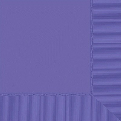 Beverage Napkin 50 CT Purple