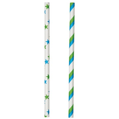 Blue/Green Lollipop Sticks