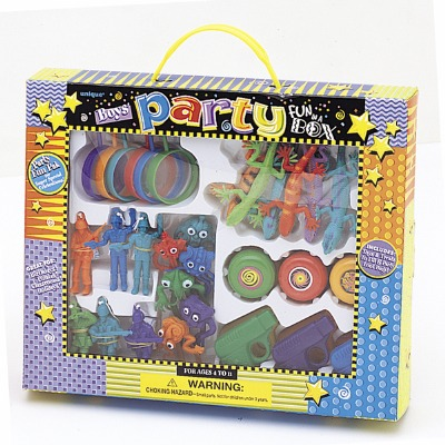 Boys Party Favor Box Included Party Favors