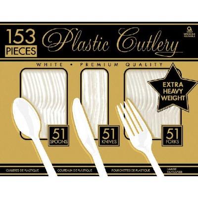 BPP Prem Cutlery 153 CT White