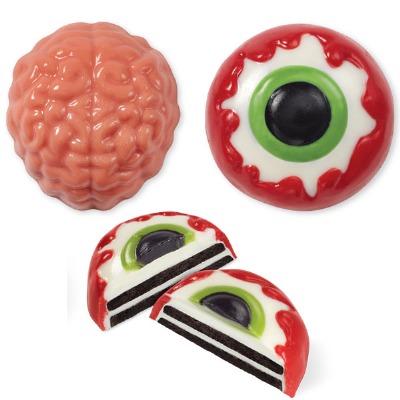 Brain Eye Cookie Candy Mold