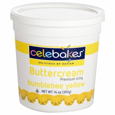 Buttercream Icing 14 OZ Yellow