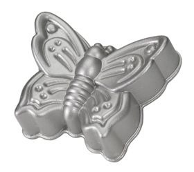 Butterfly Cake Pan 6 Cup Pan