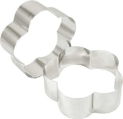 """Cake Ring Petal 3""""  X 2"""""""
