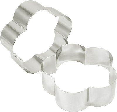 """Cake Ring Petal 3""""  X 3"""""""