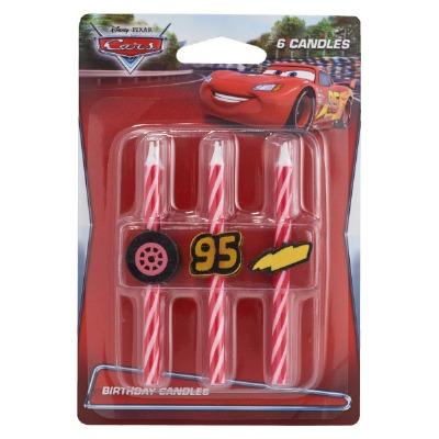 Candle Set-Cars 6 PC