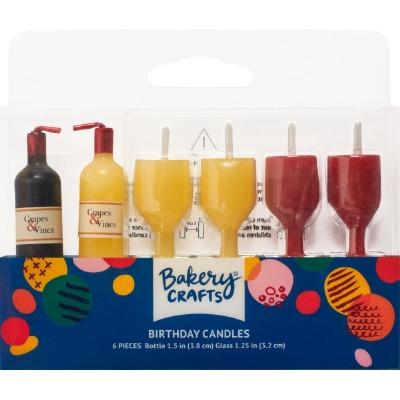 Candle Set-Wine Shaped
