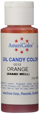 Candy Color 2 Ounce Orange