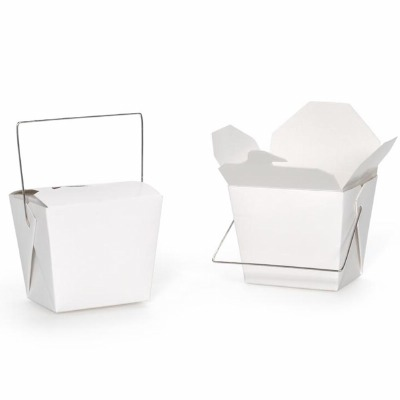 Chinese Box 8 OZ White 5-PK