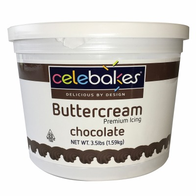Celebakes Chocolate Buttercream Icing 3.5 lbs.
