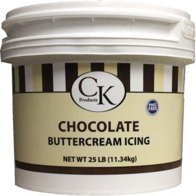 Chocolate Buttercream Icing 25 LB