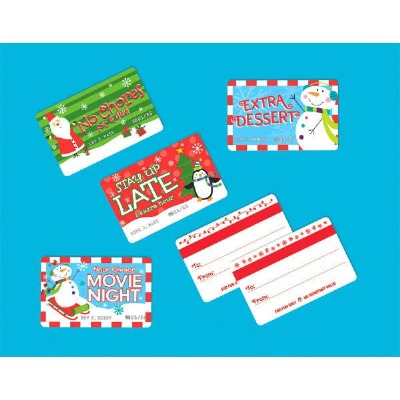 Christmas Plastic Debit Card 4