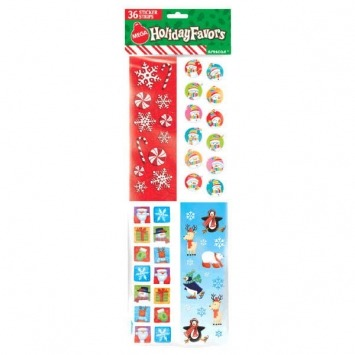 Christmas Sticker Pack 36 CT