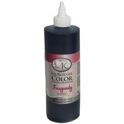CK Gel Paste Food Color 13.5 OZ Burgundy