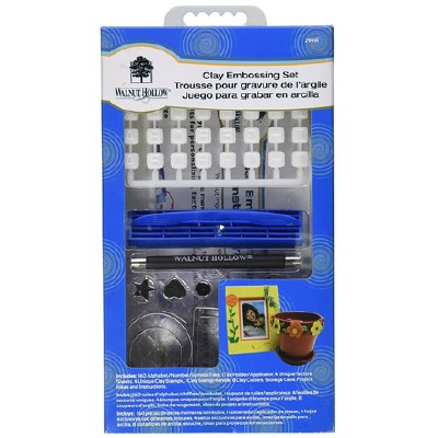 Clay Embossing 160 Piece Set