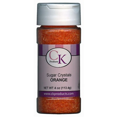 Coarse Sugar 4 OZ Orange