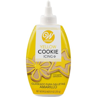 Cookie Icing 10 OZ Yellow