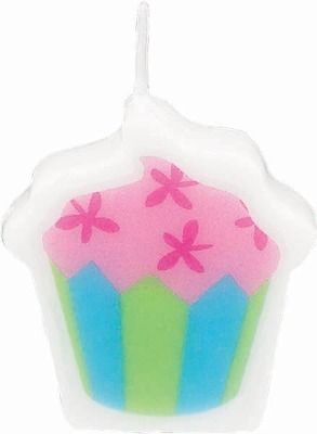 Cup Cake Candles 6 CT
