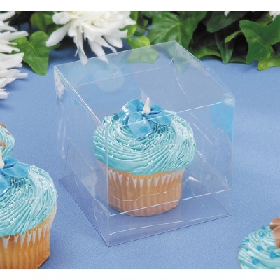 "Cupcake Box 3.5"" X 3.5"" 12 CT"