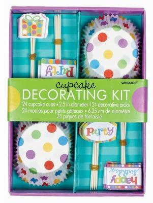 Cupcake Decorating Kit Birthday