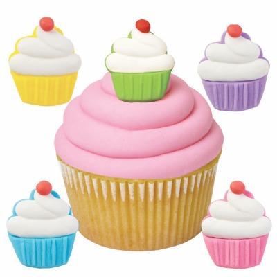 Cupcake Royal Icing Decoration