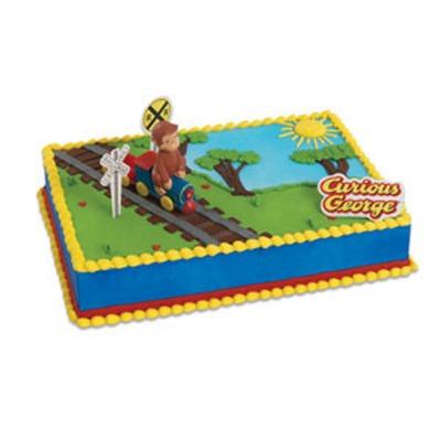 Curious George Train Cake Kit