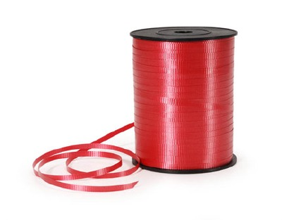 Curling Ribbon 500YDS Red