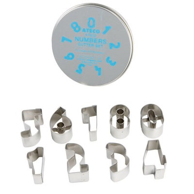 Cutter Set Numbers (Set of 9)