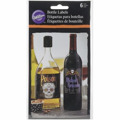 Deadly Soiree Bottle Labels 6