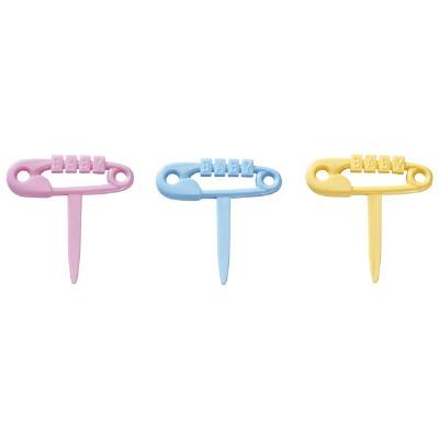 Decopics Diaper Pins 12 CT