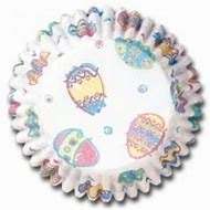 Decorated Eggs Baking Cup 50