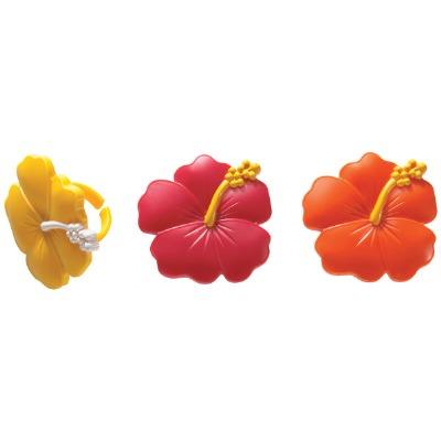 Hibiscus Flower 12 Count Rings